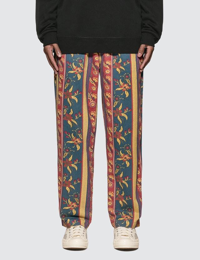 Stussy Fleur Stripe Beach Pants