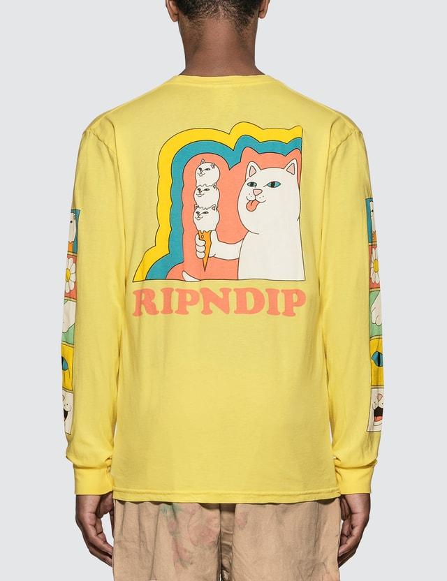 RIPNDIP Lick Me Long Sleeve T-Shirt