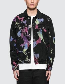 GEO Multilayered Denim Jacket