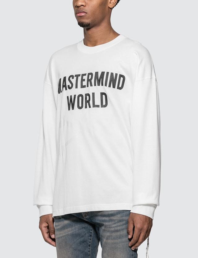 Mastermind World Logo Print Long Sleeve T-Shirt