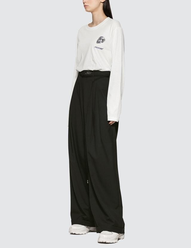 Hyein Seo Skull Print Long Sleeve T-shirt