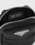 Prada Nylon Mini Pouch Nero Women