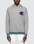 Champion Japan Colored Rib Big C Logo Hoodie Picture