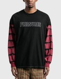 Pleasures Outline Long Sleeve T-Shirt 사진