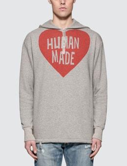 Human Made P/O Zip Hoodie