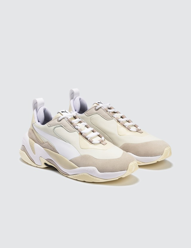 Puma Thunder Nature Sneaker Silver Gray/whisper White/cloud Cream Men