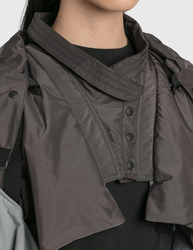 Hyein Seo Cropped Kimono Jacket Grey Women