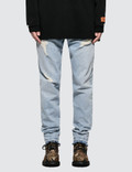 Heron Preston Ctnmb Regular 5 Pockets Pants Picture