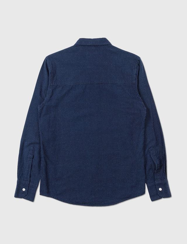 WTAPS Wtaps Polka Shirt Navy Archives