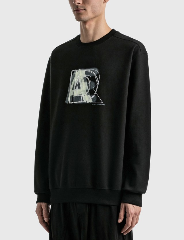 Ader Error Layer Logo Sweatshirt Black Men