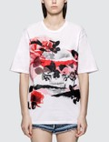 Alexander McQueen Rose Skull Printed T-shirt Picture