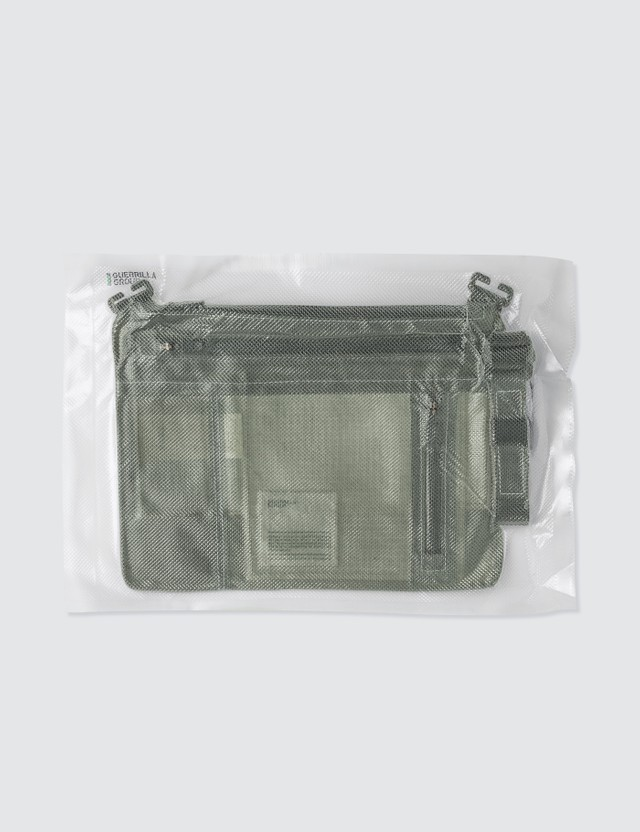 Guerrilla-group Translucent Leather Bag