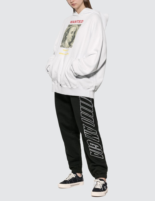 Urban Sophistication Wanted Hoodie White Women