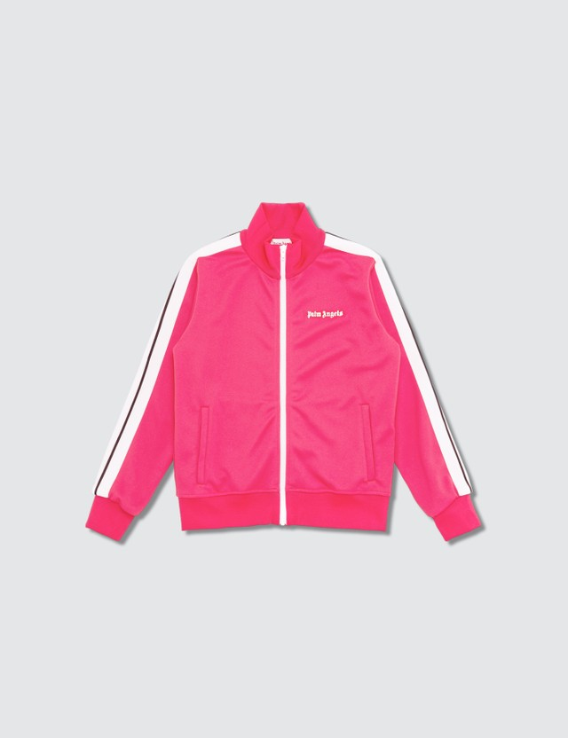 Palm Angels Classic Track Jacket (Kids) Fuxia  Kids