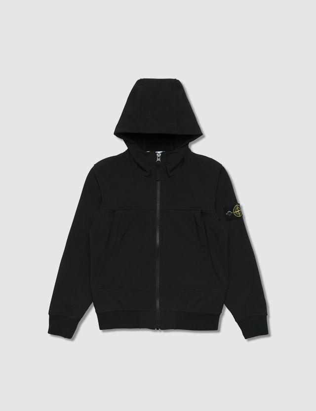 Stone Island Hooded Zip Jacket (Infant)