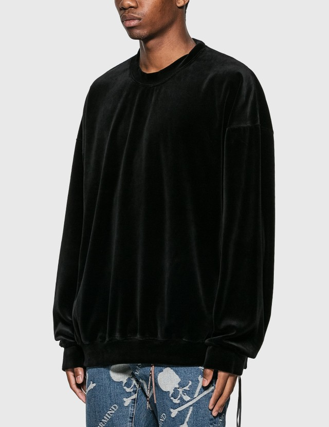 Mastermind World Velour Crewneck Sweatshirt
