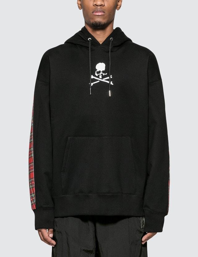 Mastermind World Skull Logo Print Hoodie With Back Panel