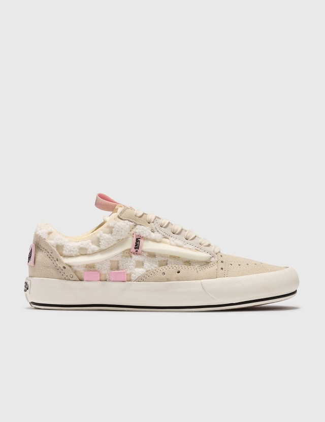 Vans Old Skool Cap (chenille Check) Classic White/snow White Women