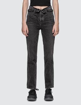 Alexander Wang.T Cult Flip Jeans