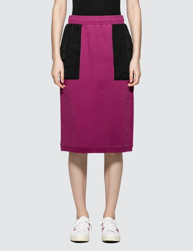 Stussy Simone Contrast Pocket Fleece Skirt