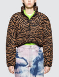 Ashley Williams Tiger Puffer Jacket Picutre