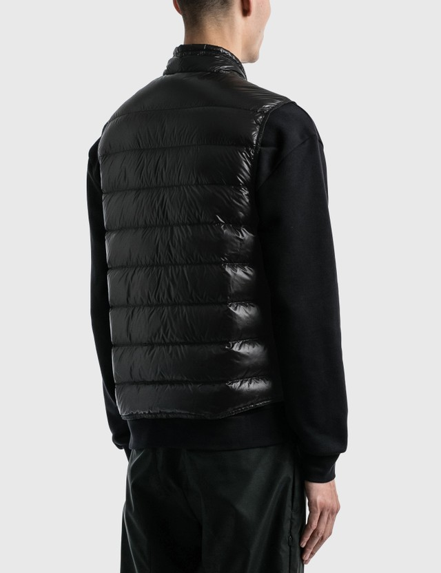 Moncler Down Gui Vest Black Men