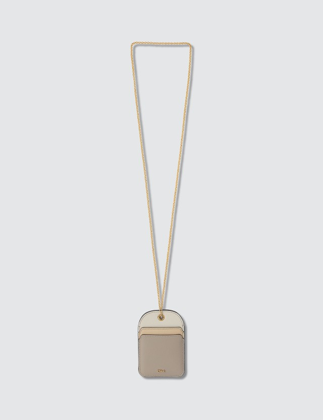Chloé Card Holder with Neck Chain