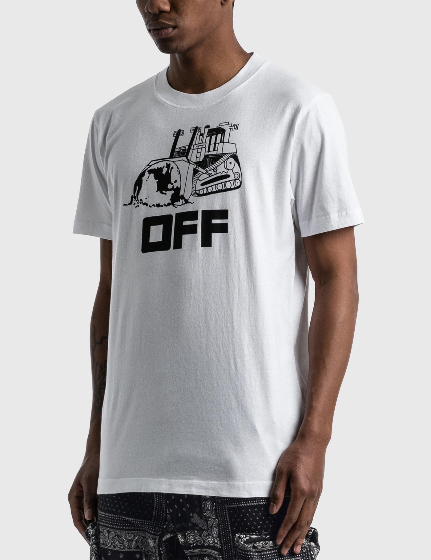Off-White WORLD CATERPILLAR SLIM T-SHIRT