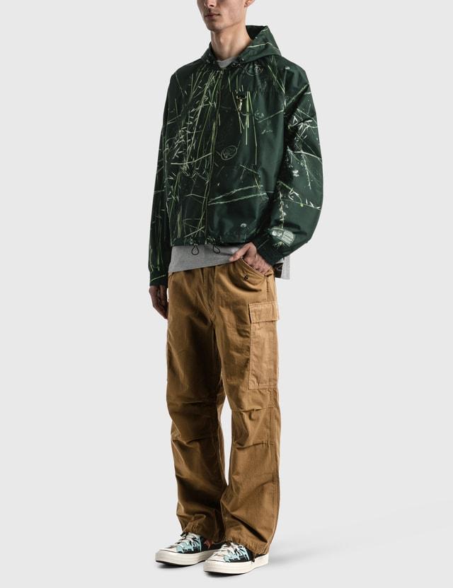 Reese Cooper Ripstop Zipped Hooded Jacket Brush Camo Men