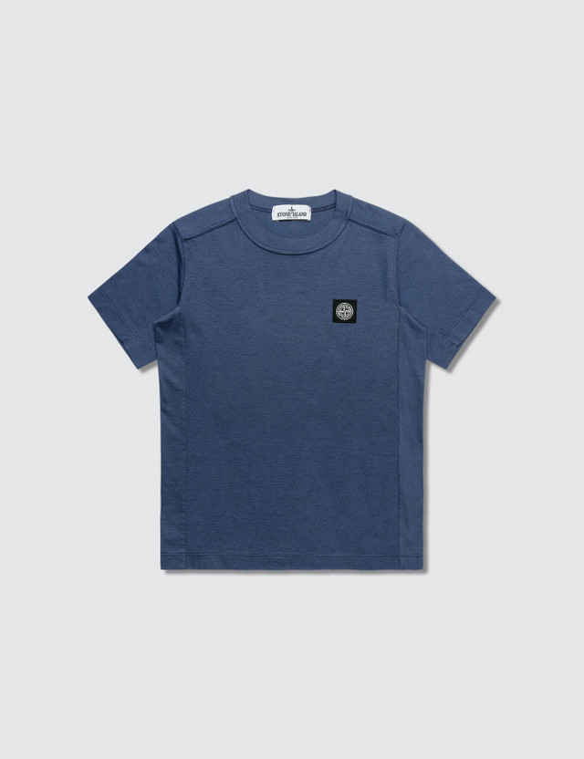 Stone Island Basic Patch Logo T-Shirt (Kids)