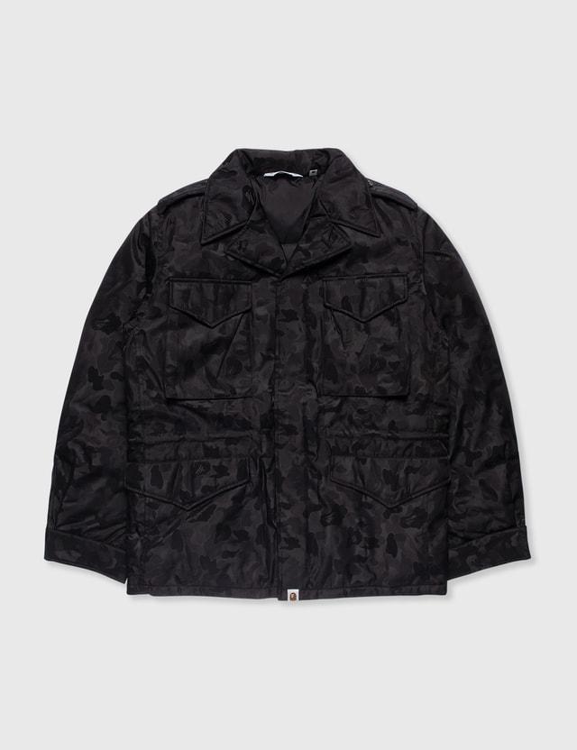 BAPE Bape Black Camo Jacket Black Archives