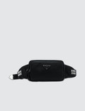 Prada Nylon Studded Belt Bag