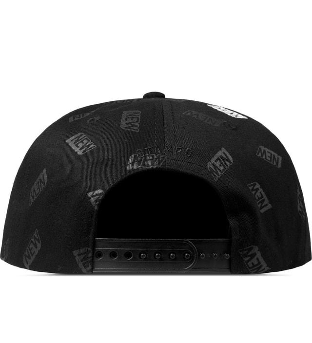 Stampd Black NEW Print Snapback Cap