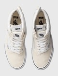 Vans Cap Mash Hi LX (suede/canvas) White/black Men