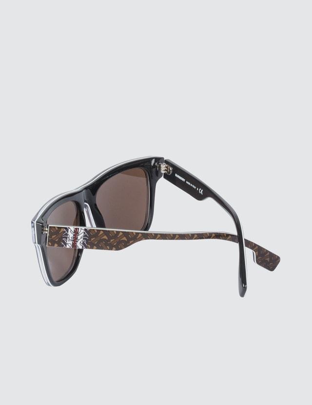 Burberry Monogram Print Sunglasses