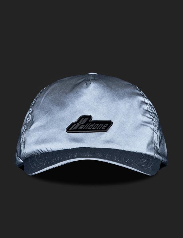 We11done Reflective We11done Wapen Logo Cap Silver Men