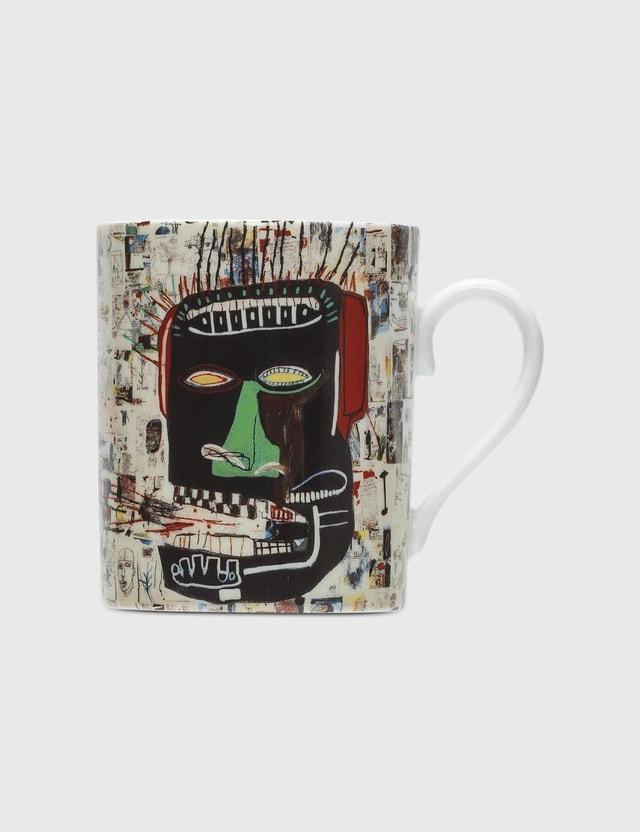 Ligne Blanche Jean Michel Basquiat Glenn Mug White Unisex