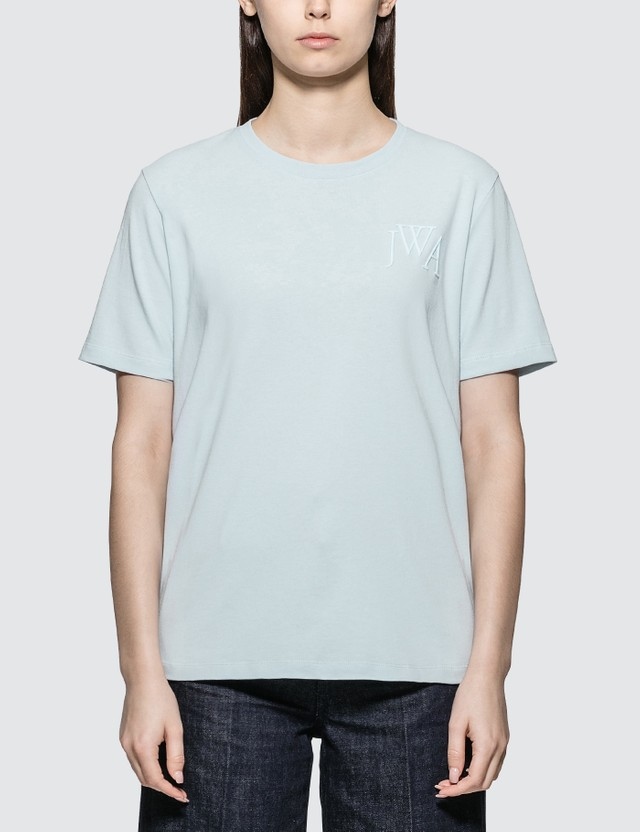 JW Anderson JWA Logo-embroideried T-shirt