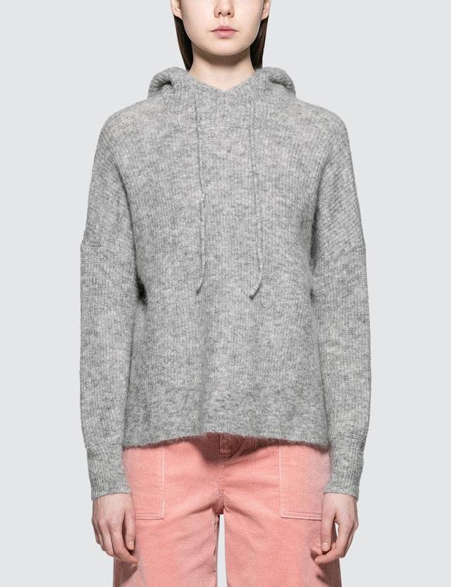 Ganni Callahan Knit Pullover Grey Women