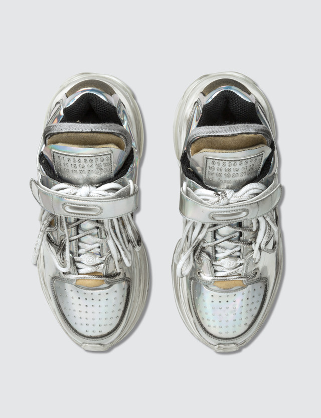 Maison Margiela Retro Fit Deconstructed Low Top Trainers