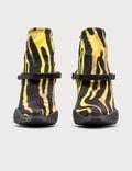Marine Serre Jersey Sock Boots 02 Amphibian Zebra Women