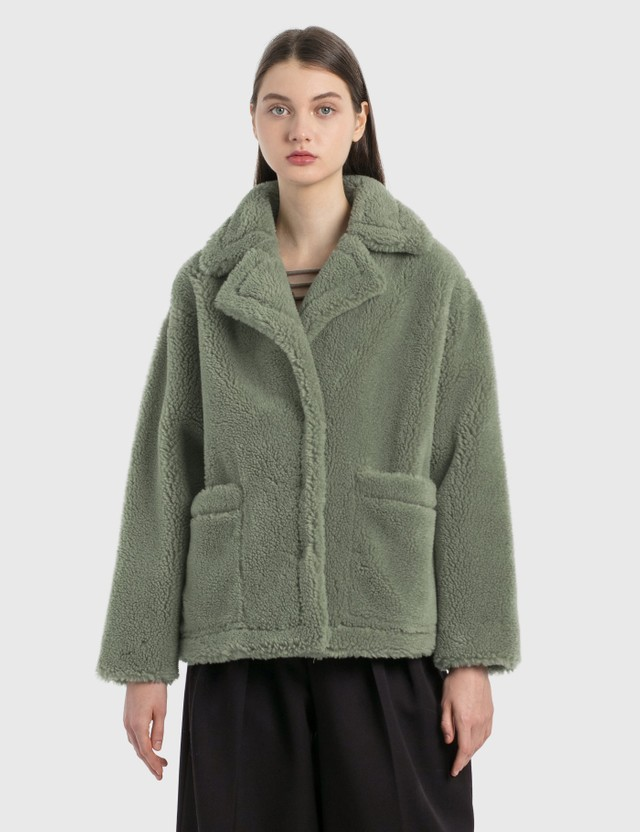 Stand Studio Marina Jacket 55100 Pea Green Women