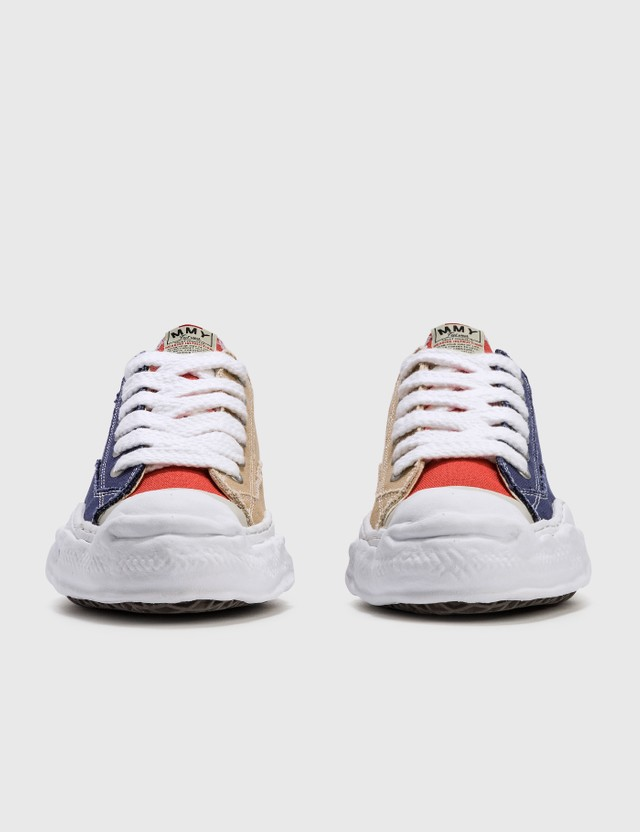 Maison Mihara Yasuhiro Original Sole Canvas Toe Cap Low Sneaker