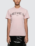 Helmut Lang Logo Hack Little Short Sleeve T-shirt Picutre