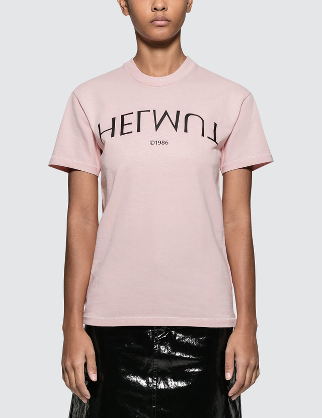 Helmut Lang Logo Hack Little Short Sleeve T-shirt