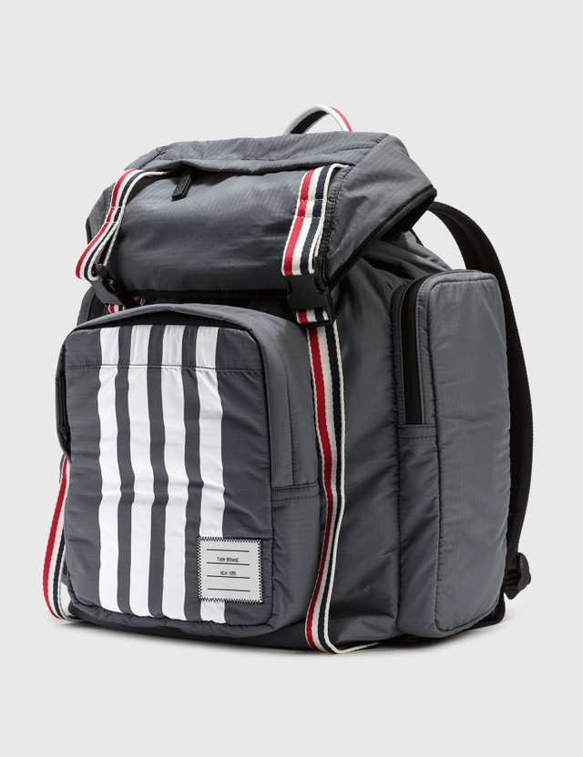 Thom Browne RWB Webbing Backpack