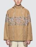 Paria Farzaneh Beige Raglan Jacket Picture
