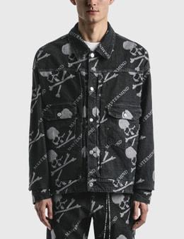 Mastermind World Monogram Denim Trucker Jacket