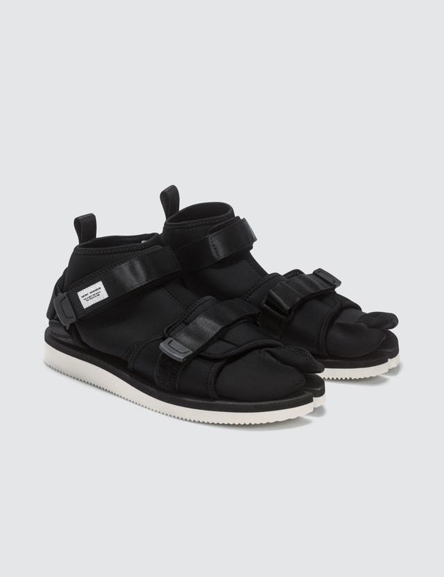 Suicoke Maharishi x Suicoke Tabi Sandals