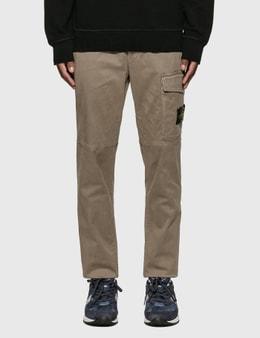 Stone Island Slim Cotton Twill Pants